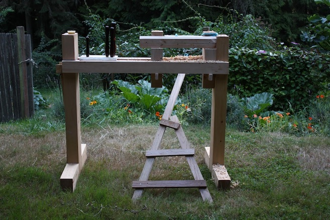 Pole Lathe Board Treadle
